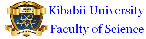 Kibabii University Faculty of Science