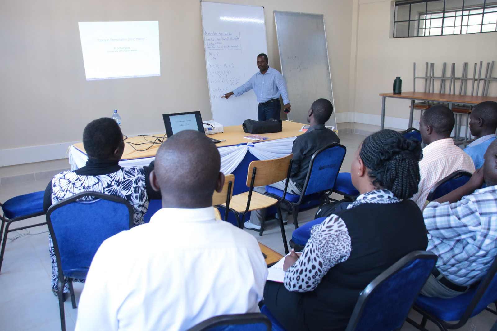 Public lecture By Professor Bernardo Rodrigues